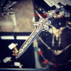 Germanic Medieval Sword Pendant