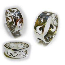 Flame Ring with cut outs