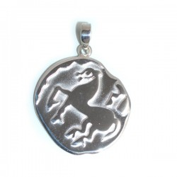 Celtic Coin (Tetradrachme) Pendant