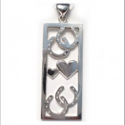 Hearts and Hooves Pendant