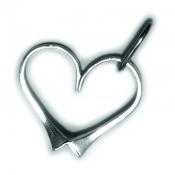 Love Heart Horse Shoe Nails Pendant