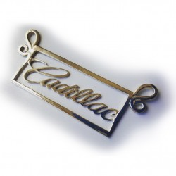 Cadillac Script Pendant