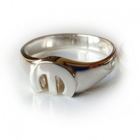 MoPar 'M' Ring Solid Sterling Silver