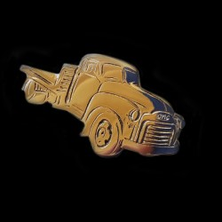 GMC 1950s Flatbed Truck Key Ring