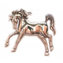Joie de Vie - French for 'Joy of Life' Prancing Horse Pendant