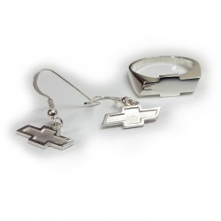 Chevrolet Bowtie Earrings