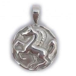 Roman Horse Coin Pendant