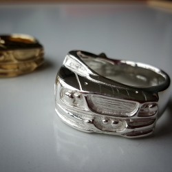 Mustang Wrap Around Ring