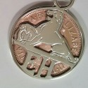 EH Holden Coin Pendant / Key ring