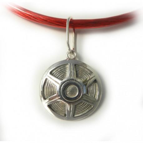Mustang Hub Cap Pendant or Key Ring