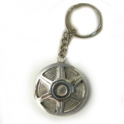 Mustang Hubcap - American Muscle Car Key ring