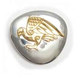 Celtic Falcon Pendant