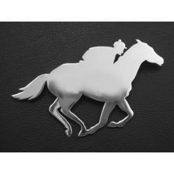 Hand Made - Racing Horse Brooch / Stock Pin