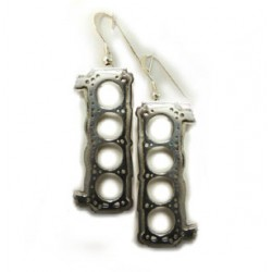 351 Cleveland Head Gasket Earrings