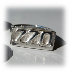 "Aussie Valiant ""770"" Sterling Silver Ring"