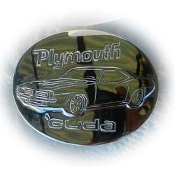 Barracuda (Plymouth) Belt Buckle - Custom Handmade 'One of' Design