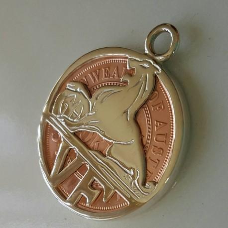 VF Holden Coin Pendant / Key ring