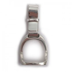 Chunky Silver Stirrup for Men or Women (Sterling Silver)