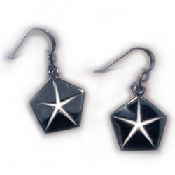Mopar Pentastar Earrings