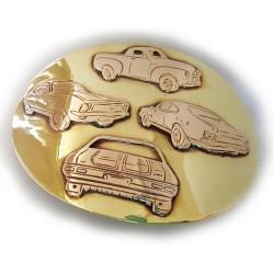 Holden Heaven Oval Buckle Brass & Bronze