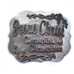 Custom Made Buckle for a Truck Drivin' Customer - One of Design
