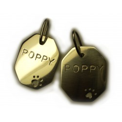Custom Dog Tag Pendant (Traditional Dog Tag style design)