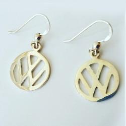 VW Logo Earrings