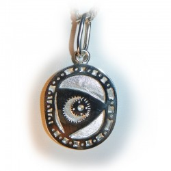 Rotary Engine - Cross Section Pendant or Key ring