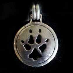 Wolf Tracks Sterling Silver