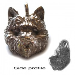 Cairn Terrier Sterling Silver