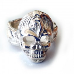 Rockabilly Skull Ring