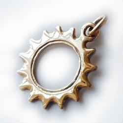 Gold Cog pendant